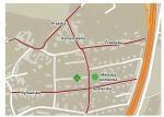Mapa místa knihovny Mníšek pod Brdy
